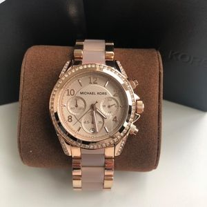 NEW Michael Kors PinkRose Gold Ladies Watch Mk5943